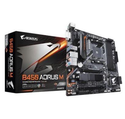 Placa-Mãe Gigabyte B450 AORUS M AMD AM4 mATX DDR4