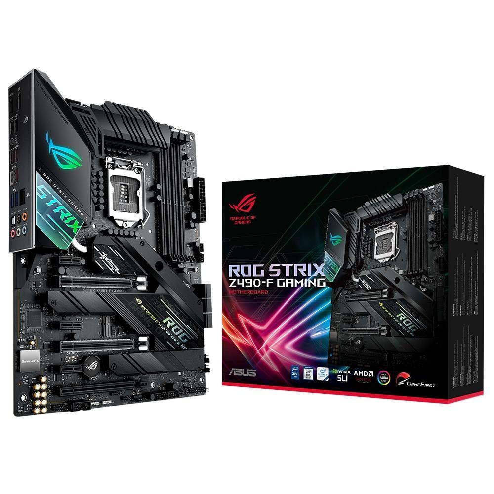 Placa-Mãe Asus ROG Strix Z490-F GAMING Intel LGA 1200 ATX DDR4