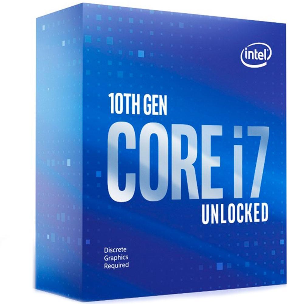 Processador Intel Core i7-10700KF LGA 1200 3.8GHz Cache 16MB