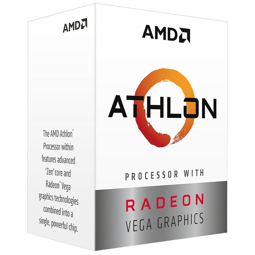 Processador AMD Athlon 3000G AM4 3.5GHz