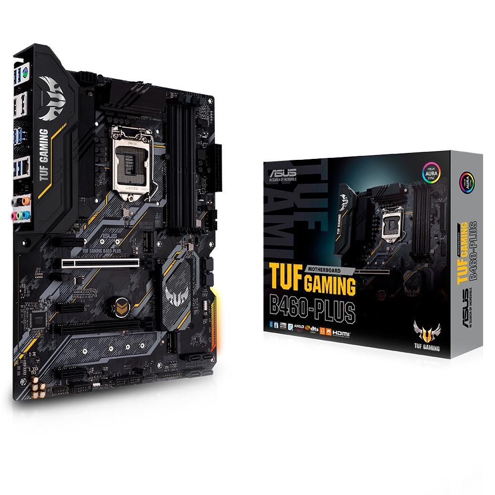 Placa-Mãe Asus TUF Gaming B460-Plus Intel LGA 1200 ATX DDR4