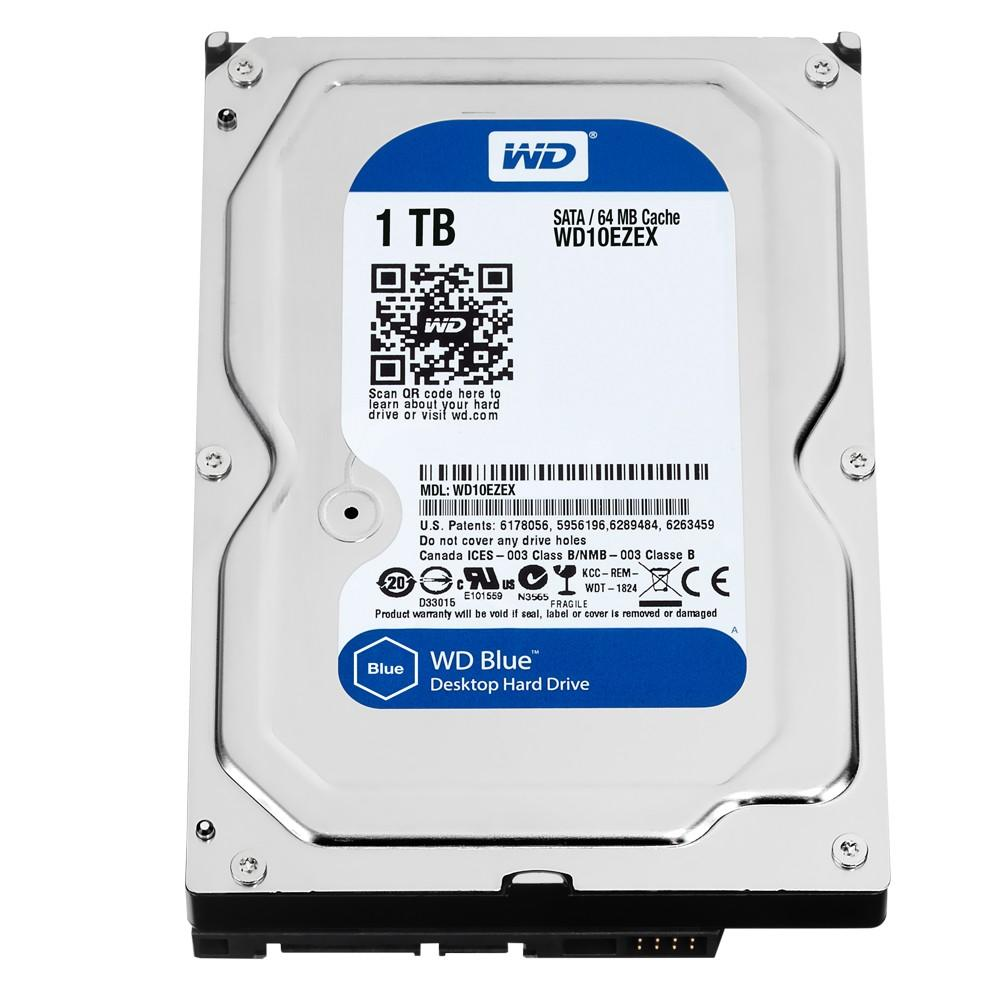 HD Western Digital Caviar Blue 1TB , Sata III , 7200RPM , 64MB , WD10EZEX