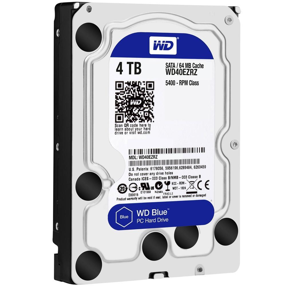 HD WD Blue 4TB 3.5' SATA