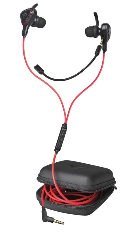 Fone de ouvido Gamer Trust GXT 408 Cobra com Microfone