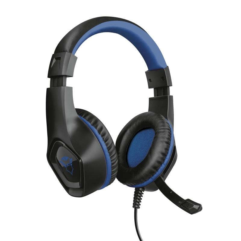 Headset Gamer Trust GXT 404B Rana Azul