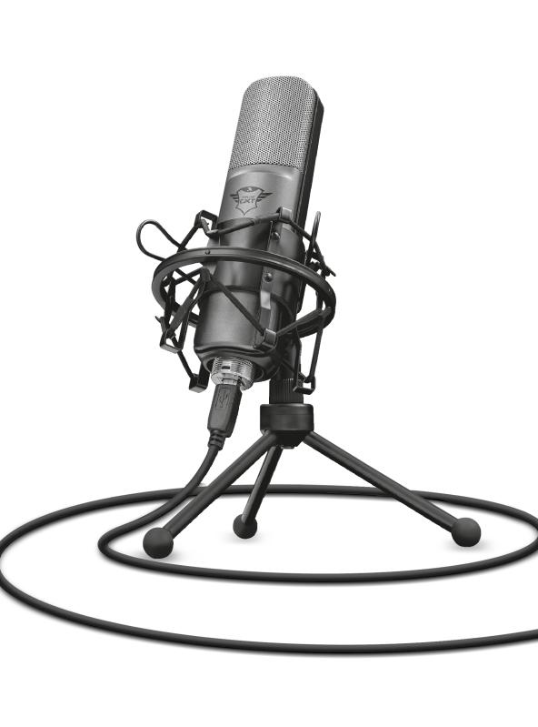 Microfone Gamer Trust GXT 242 Lance Streaming