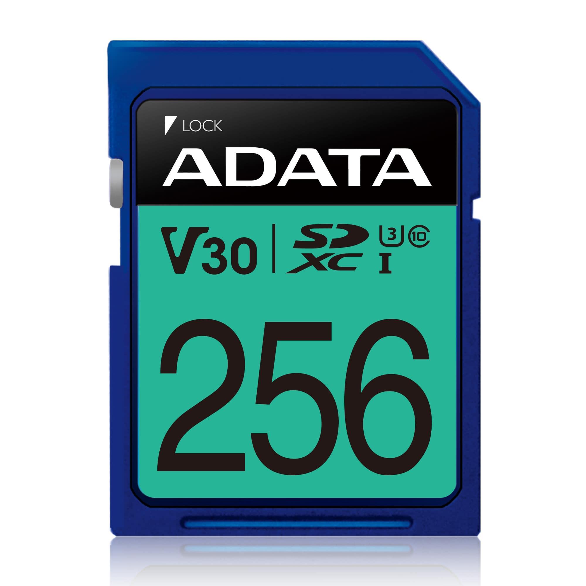 Cartão de Memória SDXC Adata Premier Pro 256GB C10