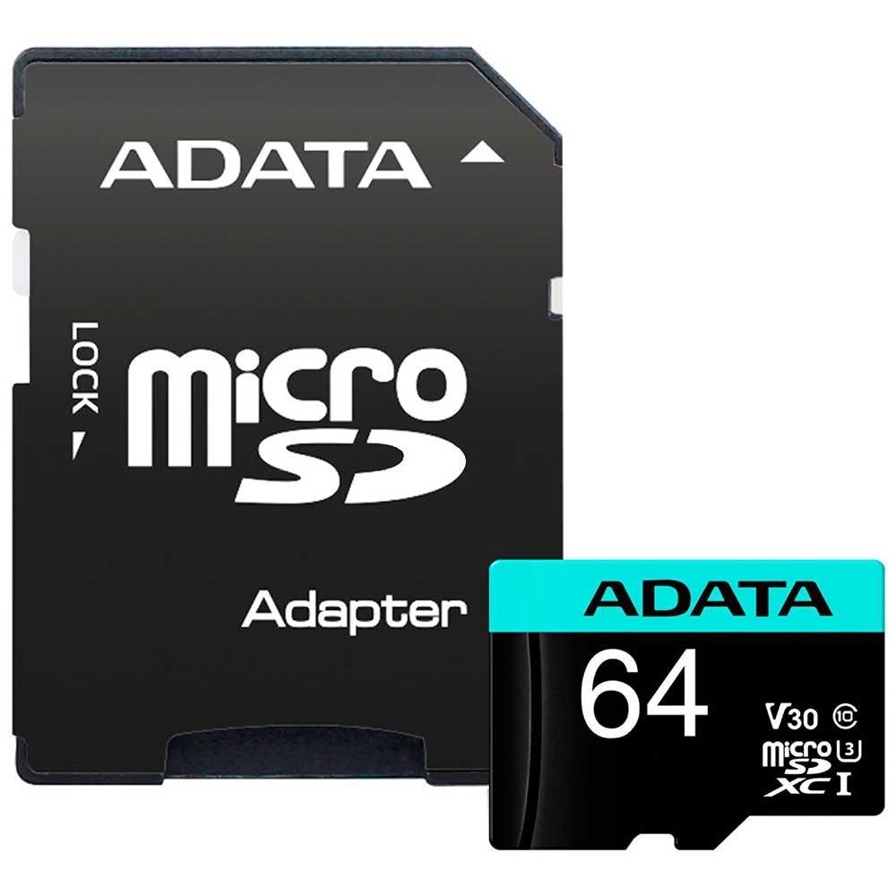 Cartão de Memória Adata MicroSDXC Premier Pro 64GB C10