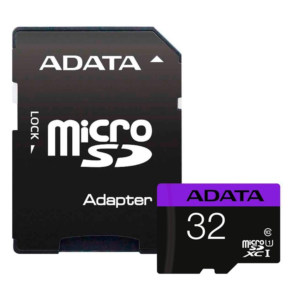 Cartão de Memória Adata MicroSDXC Premier 32GB C10