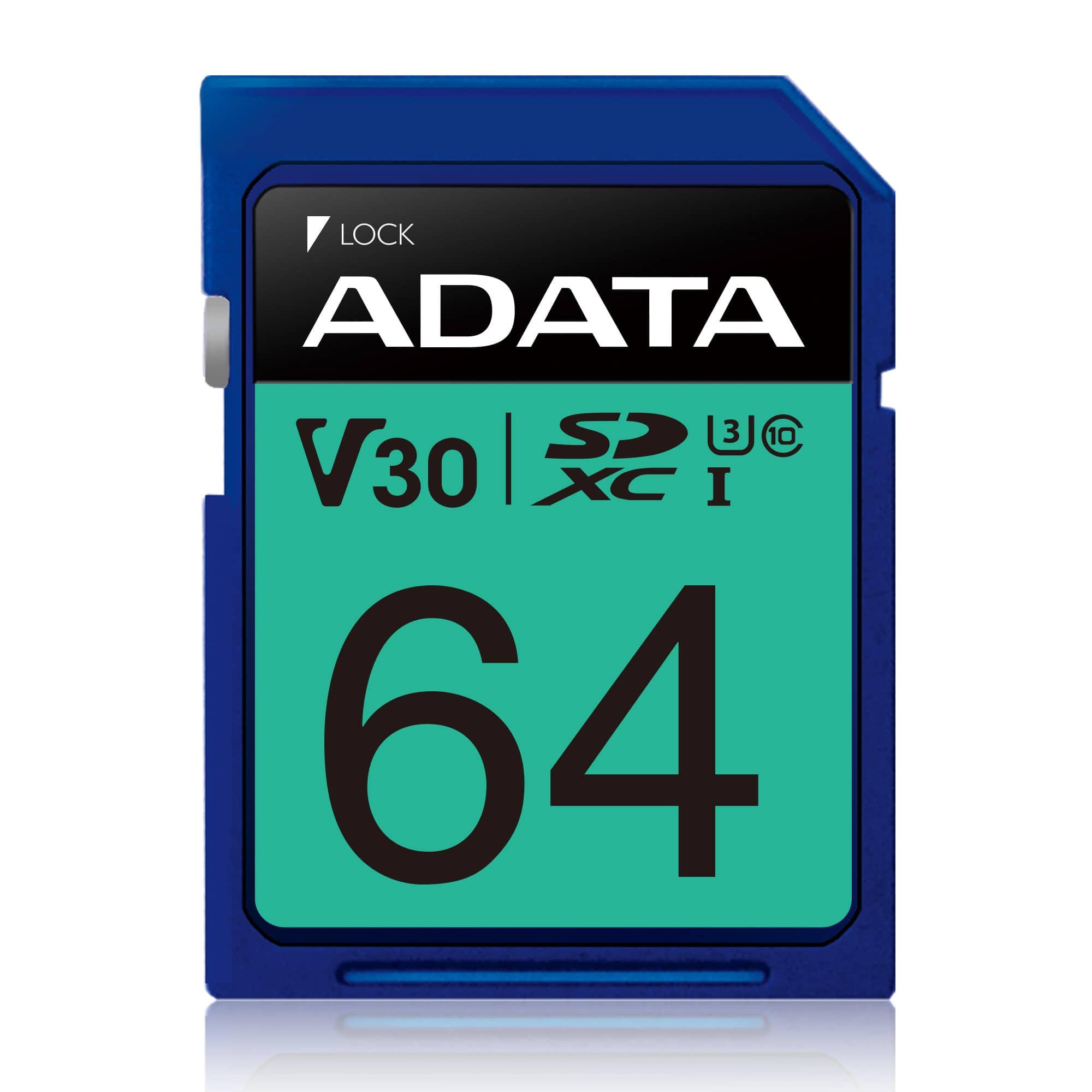 Cartão de Memória SDXC Adata Premier Pro 64GB C10