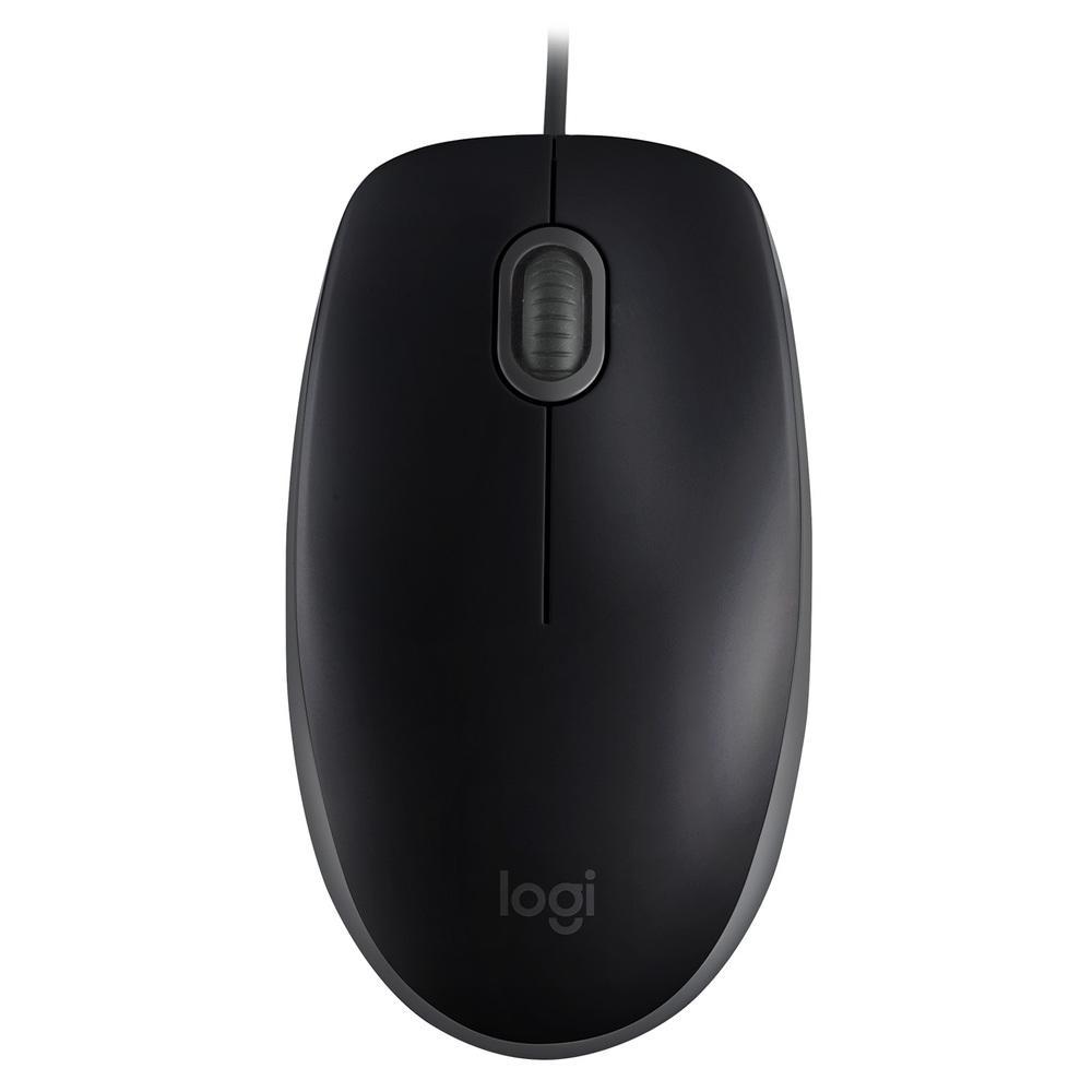 Mouse Com Fio Logitech M110 Silent 1000DPI Preto