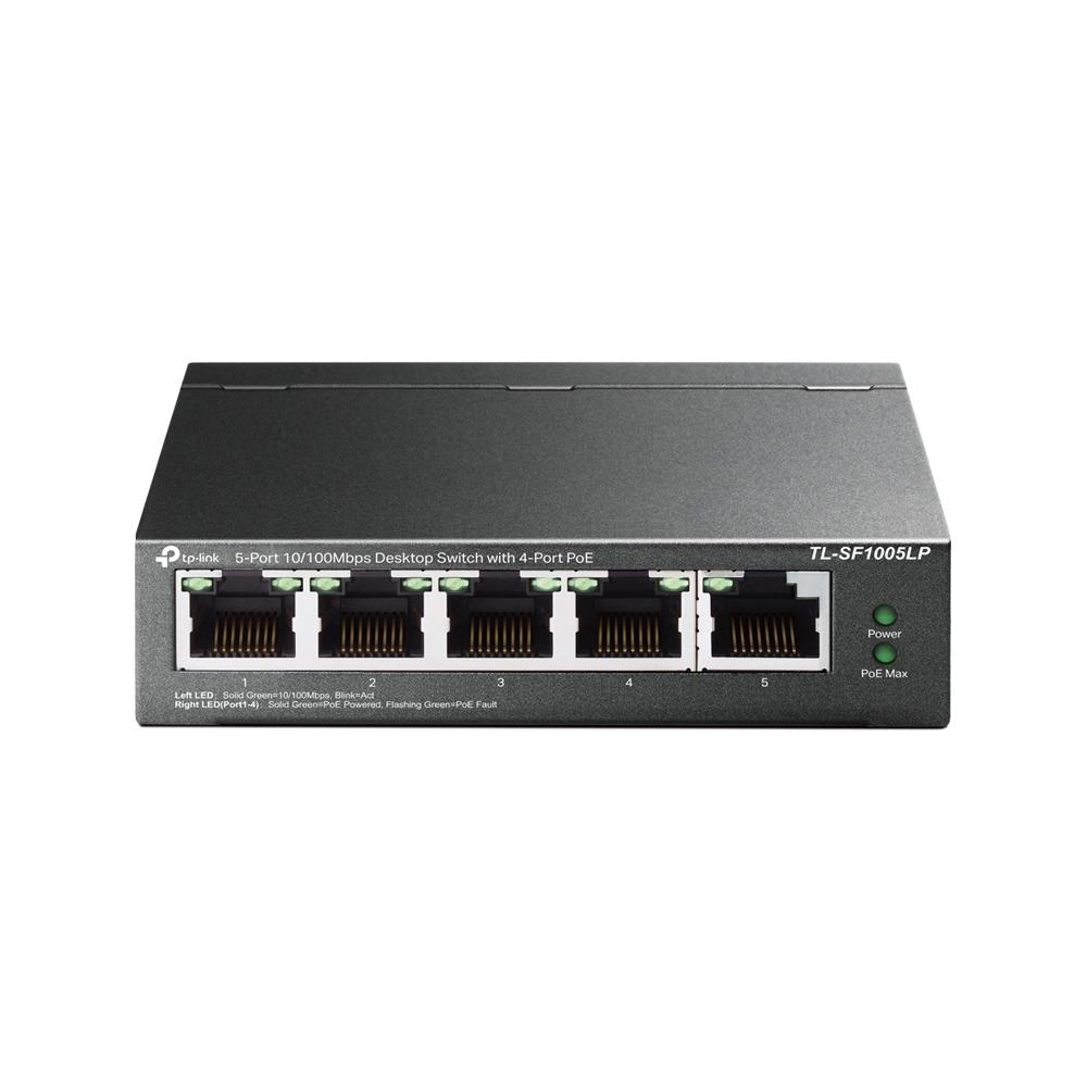 Switch TP-Link TL-SF1005LP Fast Ethernet 5 Portas