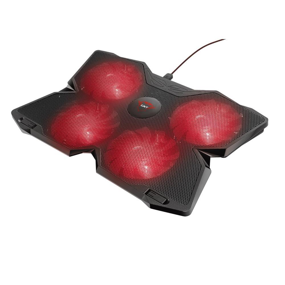 Base Cooler para Notebook Trust GXT 278 Yozu Vermelho