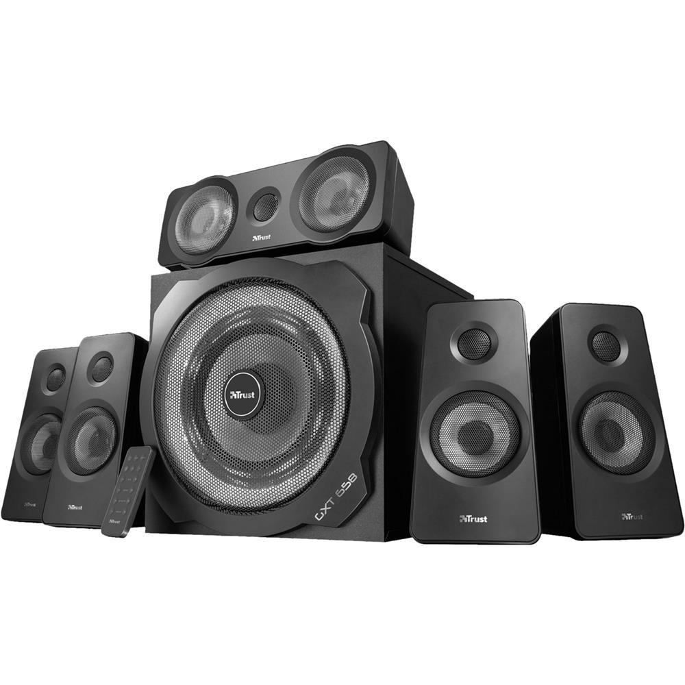 Caixa de Som Trust GXT658 Tytan 5.1 Speaker Set