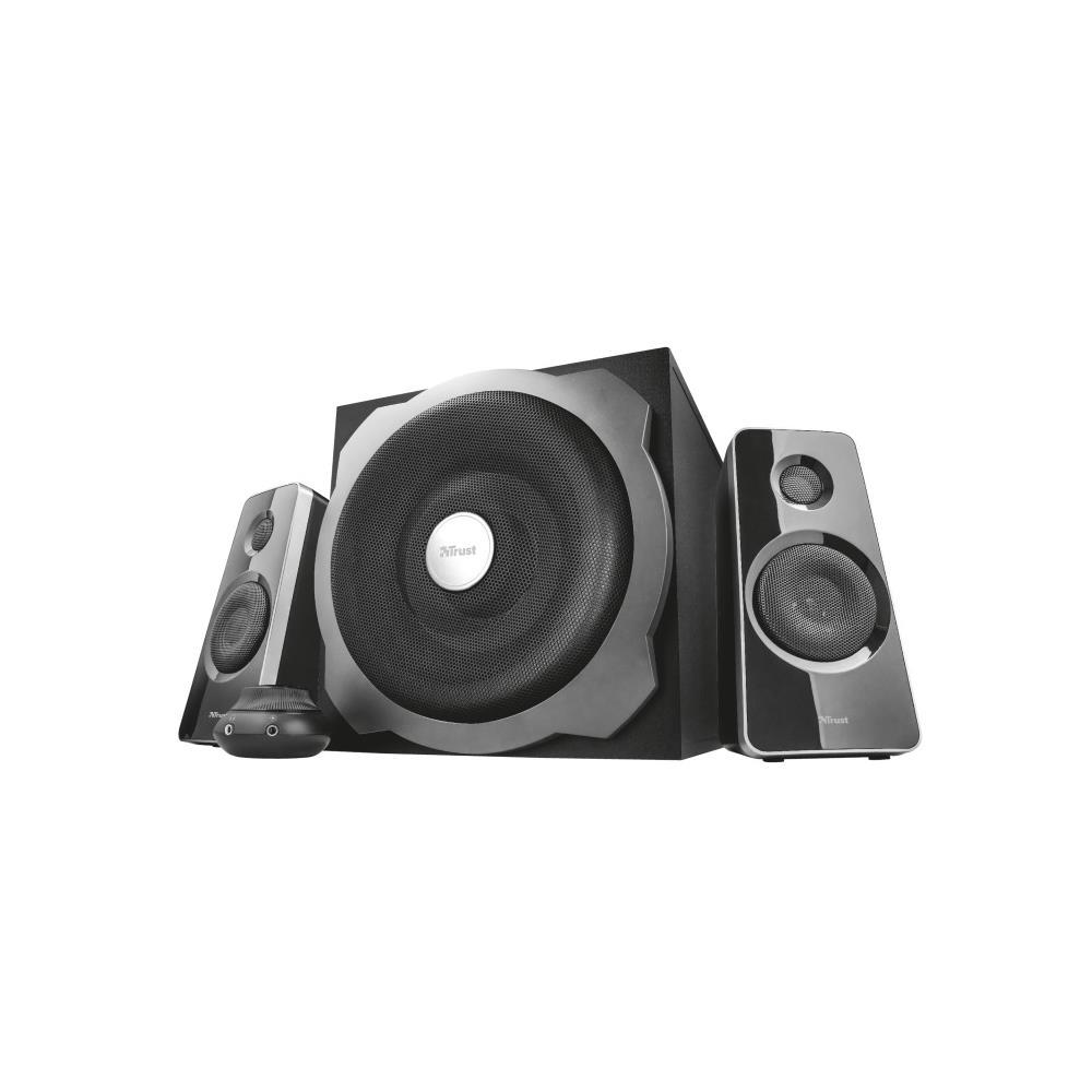Caixa de Som Trust Tytan 2.1 Speaker Set Preto