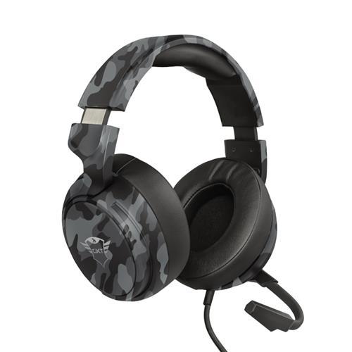 Headset Gamer Trust GXT 433K Pylo Mult Camuflado Preto