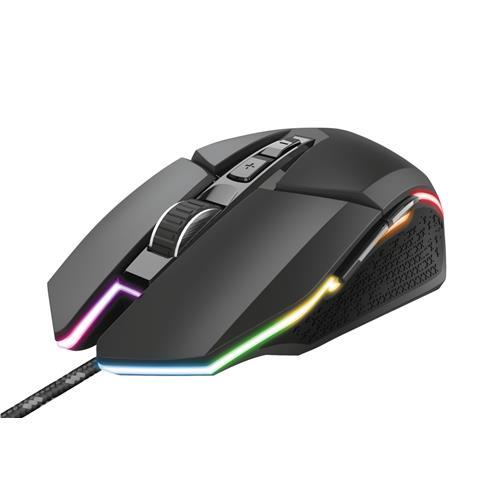 Mouse Gamer Trust GXT 950 Idon Iluminado USB 6000DPI RGB
