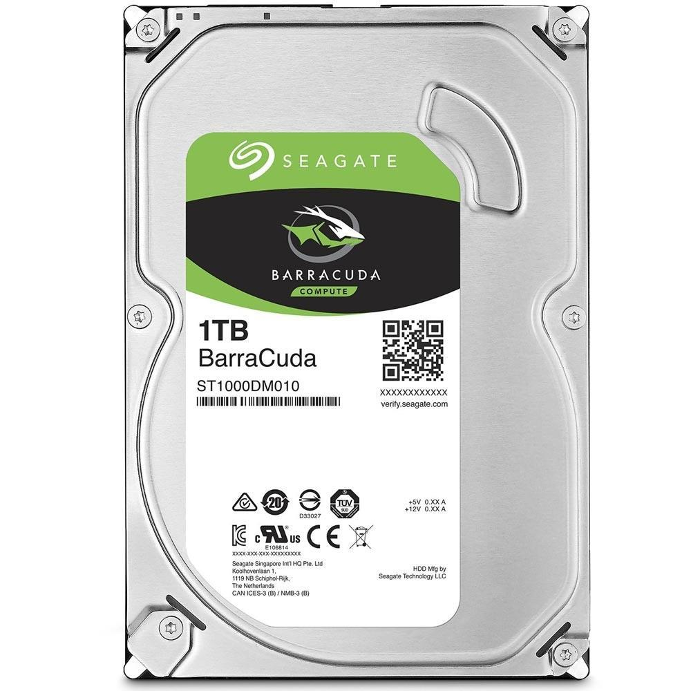 "HD Seagate BarraCuda 1TB 3.5"" SATA"