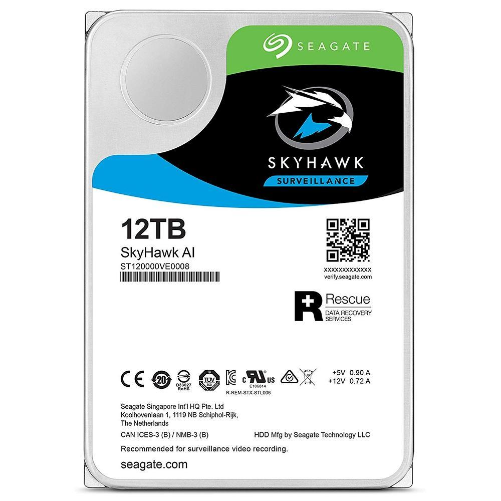 HD Seagate Surveillance SkyHawk 12TB SATA