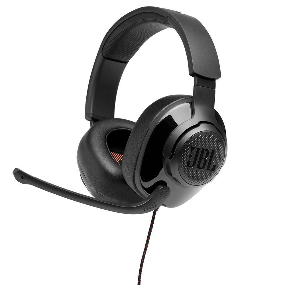 Headset Gamer JBL Quantum 300 com Microfone Preto