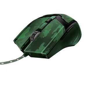 Mouse Gamer Trust GXT 101C Gav USB 4800DPI Camuflado Verde