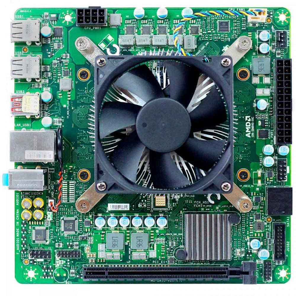 Kit Desktop AMD 4700S 8-Core 3.6 GHz 16GB
