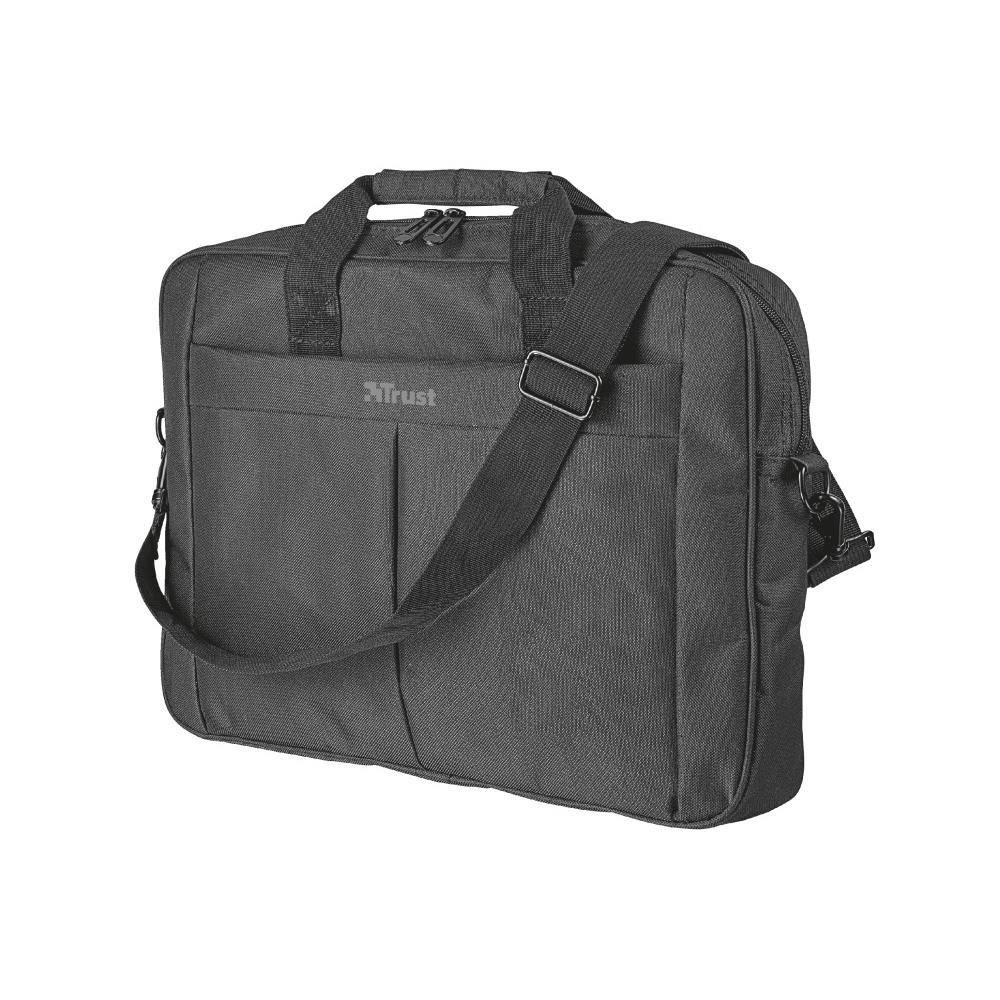 "Maleta Notebook Trust 16"" Primo Carry Preto"