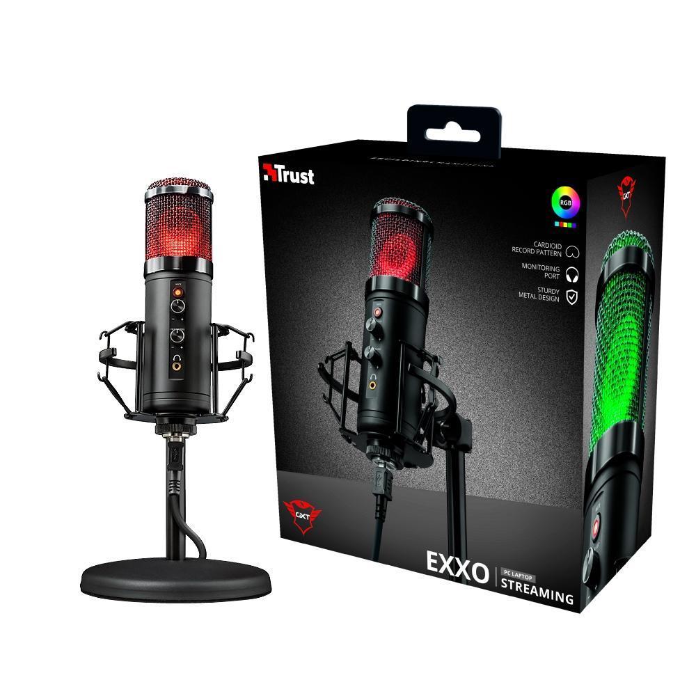 Microfone Gaming Trust GXT 256 Exxo Streamer