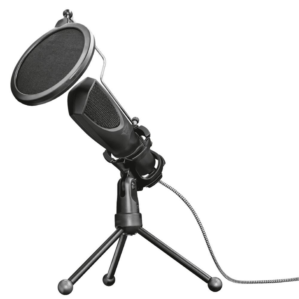 Microfone Streaming Trust Mantis USB GXT232