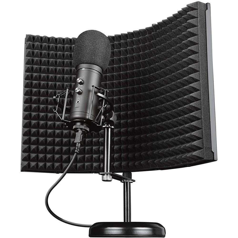 Microfone Studio Trust Rudox GXT259 Filtro Refletor