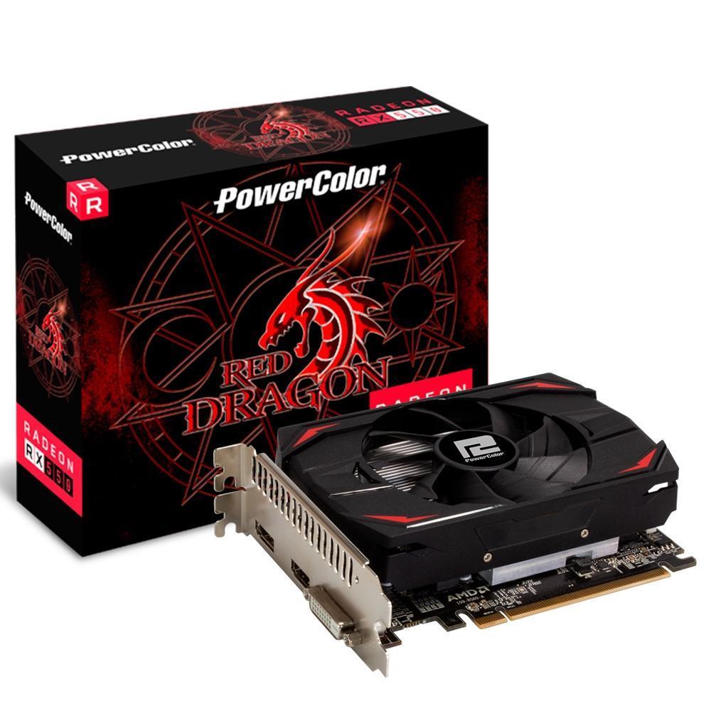 Placa de video AMD Radeon 550 2GB