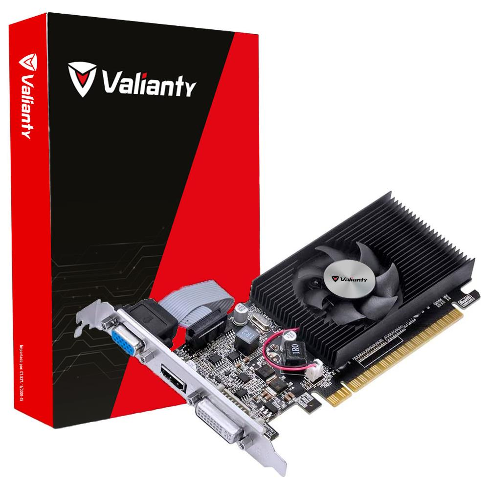 Placa de Vídeo Valianty G210 512MB GDDR3 64bit PCI-e 2.0