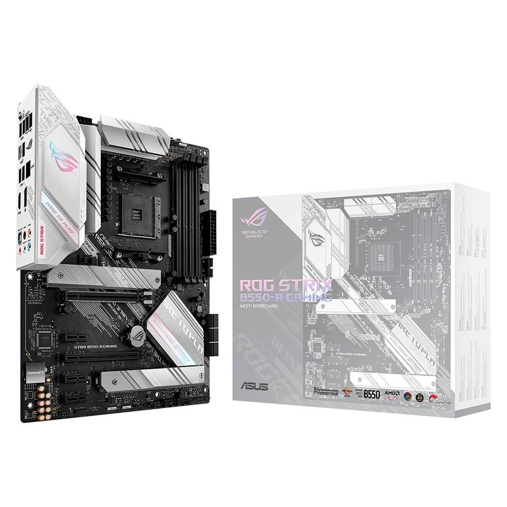Placa-Mãe Asus ROG Strix B550-A Gaming AMD AM4 ATX DDR4