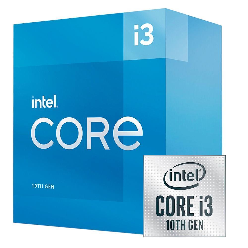 Processador Intel Core i3-10105 LGA 1200 3.7GHz Cache 6MB