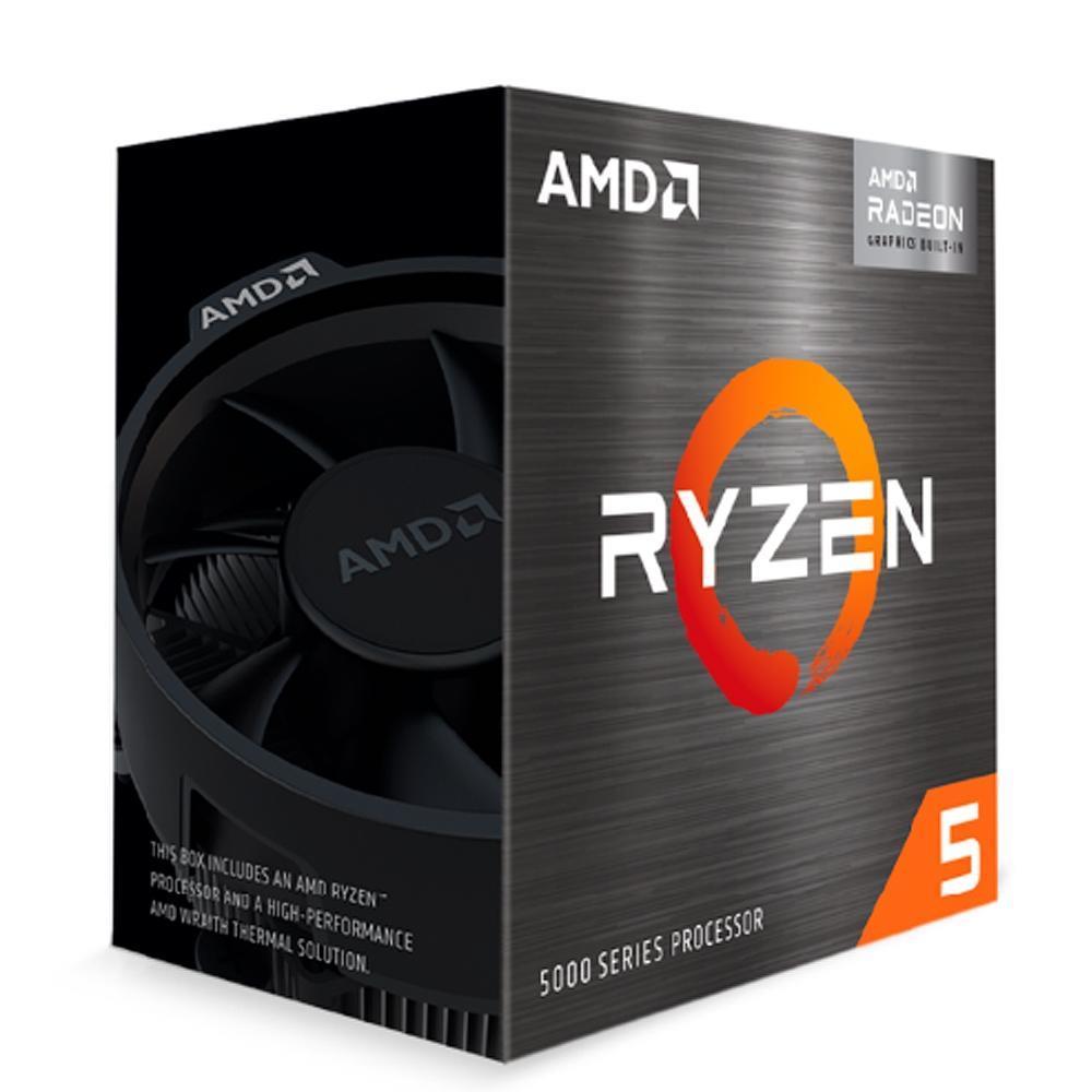 Processador AMD Ryzen 5 5600G AM4 3.9GHz Cache 19MB
