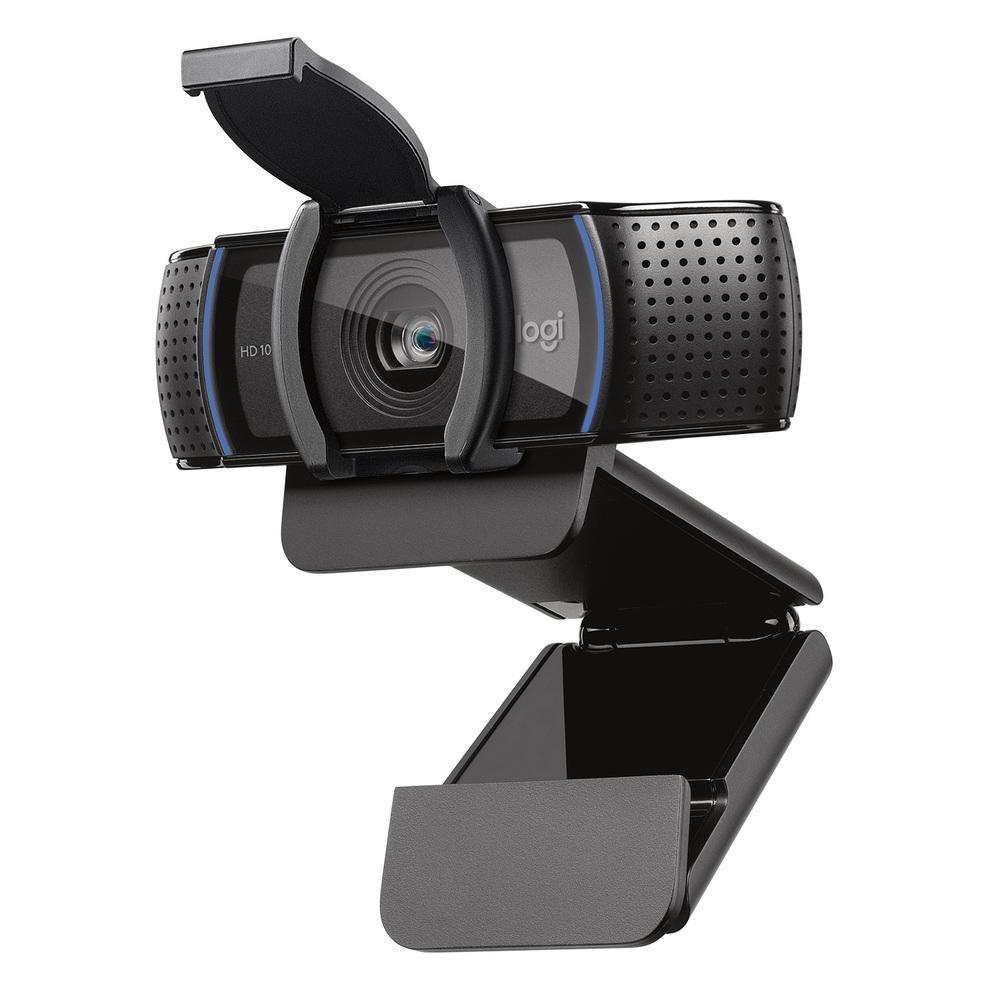 Webcam Logitech Pro C920S Full HD 30fp Widescreen 1080p USB